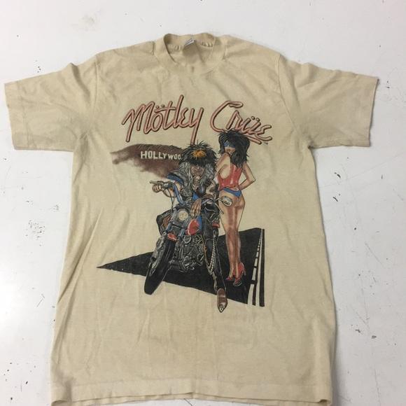 f0dc940ca1 Shirts | Vintage Motley Crue Tshirt | Poshmark